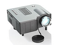 SceneLights Mini-LED-Beamer LB-3001.mini mit 60 Lumen & Media-Player (refurbished)