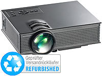 SceneLights SVGA-LCD-LED-Beamer LB-8300.mp, Mediaplayer (Versandrückläufer)